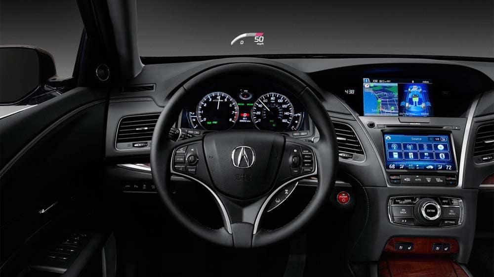 2017 Acura RLX Interior Features
