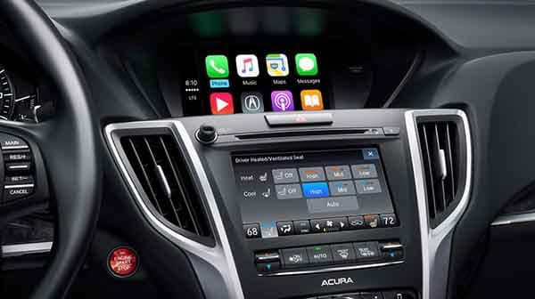2018 Acura TLX Interior Dashboard Features
