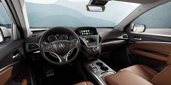 2018 Acura MDX Interior Dashboard Features