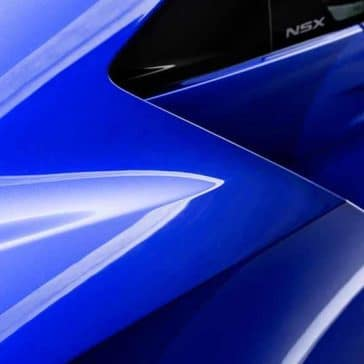 2018 Acura NSX Closeup Side View