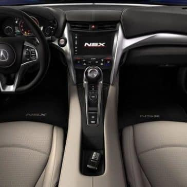 2018 Acura NSX Interior Front Seating and Dashboard