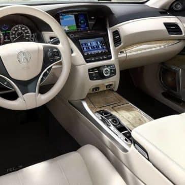 2019 Acura RLX front interior