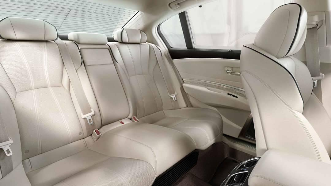 2019 Acura RLX leather seating