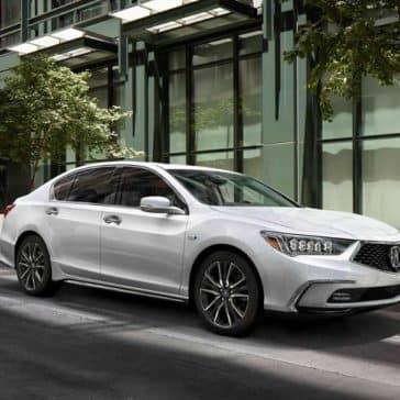 2019 Acura RLX parked