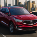 2019 Acura RDX on bridge