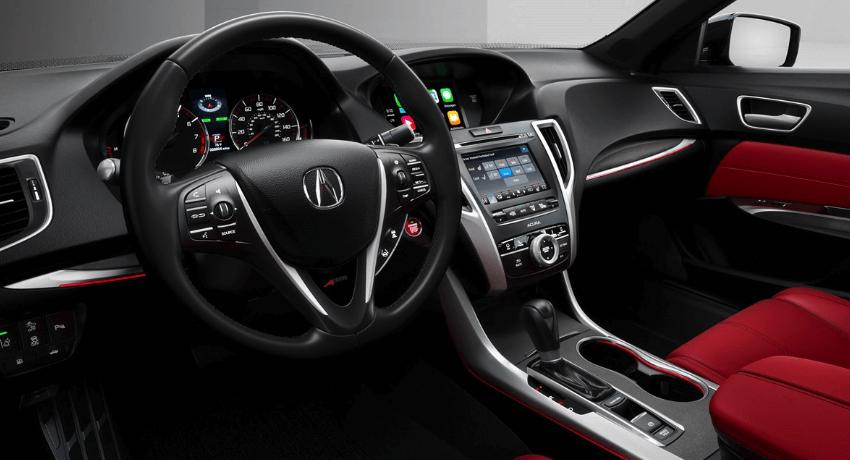 2019 Acura TLX interior dashboard