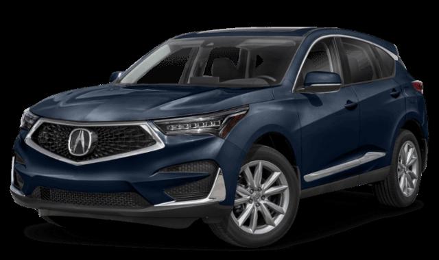 blue 2019 Acura RDX suv