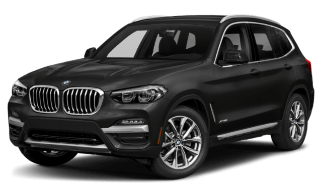 black 2019 BMW x3 SUV