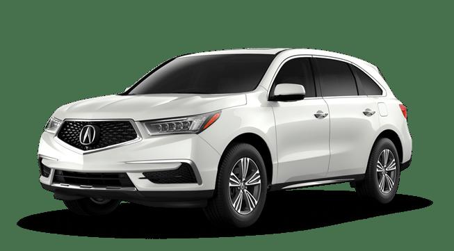 2020 Acura MDX White
