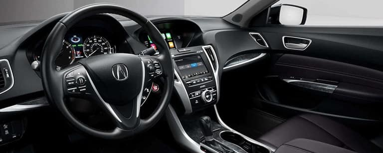 2020 Acura TLX interior dashboard