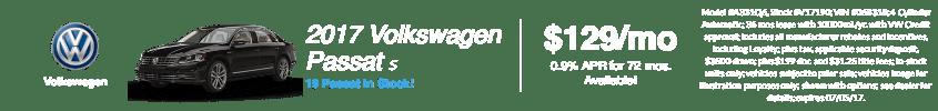 2017 Volkswagen Passat S