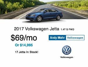 2017 Volkswagen Jetta Lease Offer