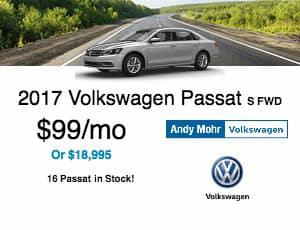 2017 Volkswagen Passat Lease Offer