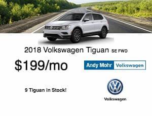 2018 Volkswagen Tiguan Lease Offer