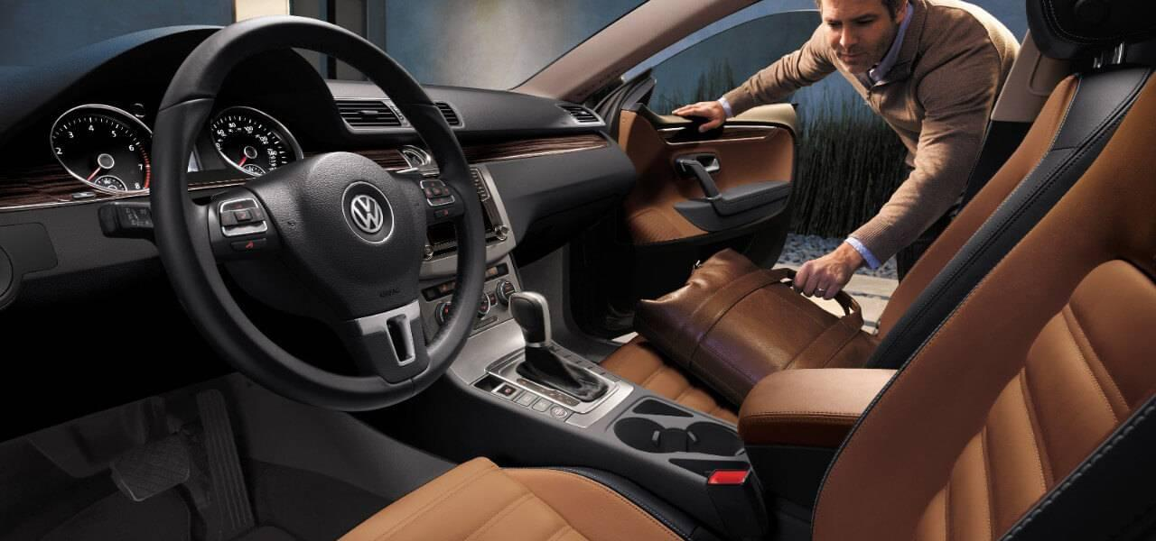 Attractive 2017 Volkswagen CC Interior Gallery