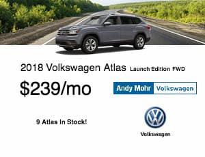 2018 Volkswagen Atlas Lease Offer