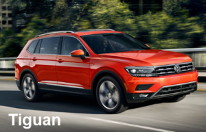 Compare VW Tiguan