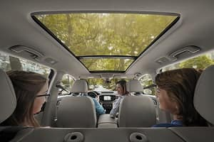2018 Volkswagen Atlas interior cargo space