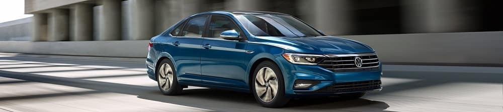 VW Jetta blue