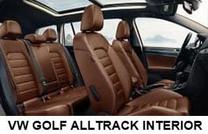 VW golf alltrack interior