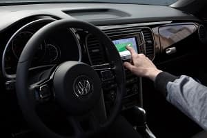 2018 VW Beetle Interior Technology
