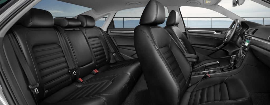 2018 Volkswagen Passat interior seats