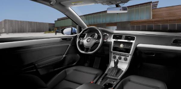 Vw Golf Interior Avon In Andy Mohr Volkswagen Dealer