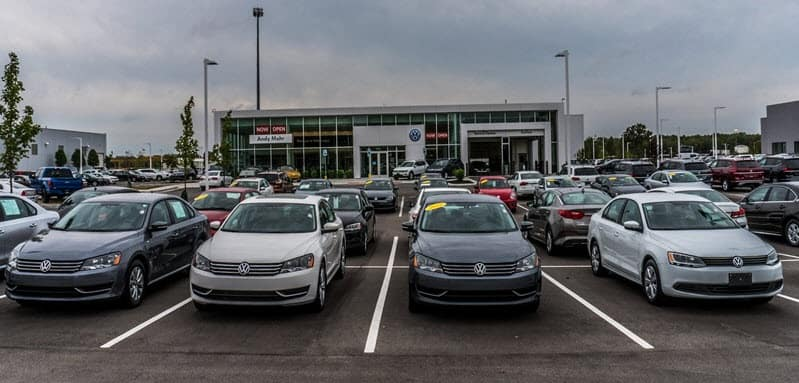 Used Car Dealership Greenwood In Andy Mohr Volkswagen