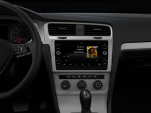 VW Golf Interior 2018