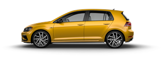 2019 Golf R Ginster Yellow