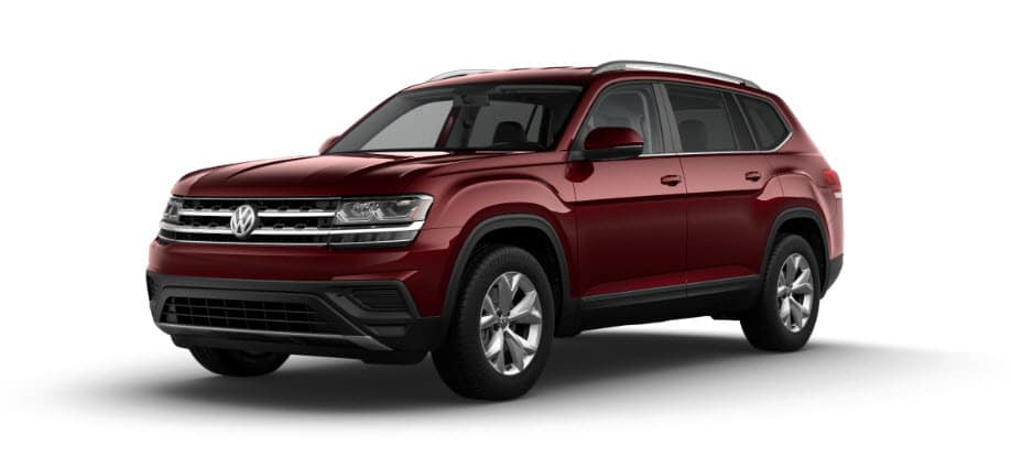 2018 VW Atlas Red