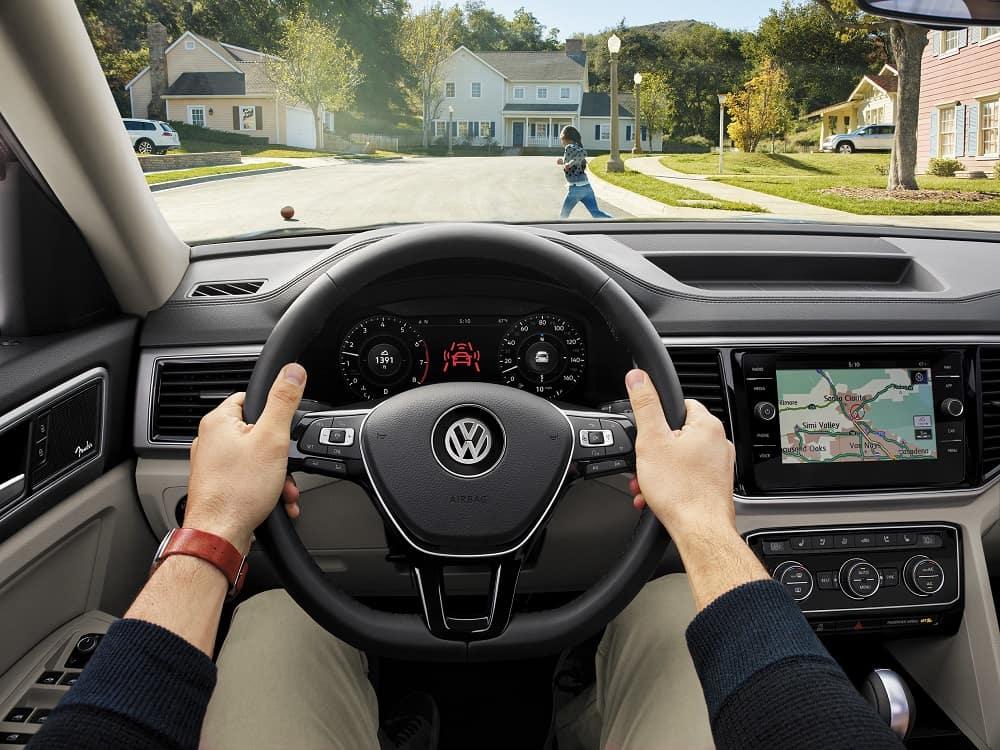 2019 Volkswagen Atlas Interior Technology