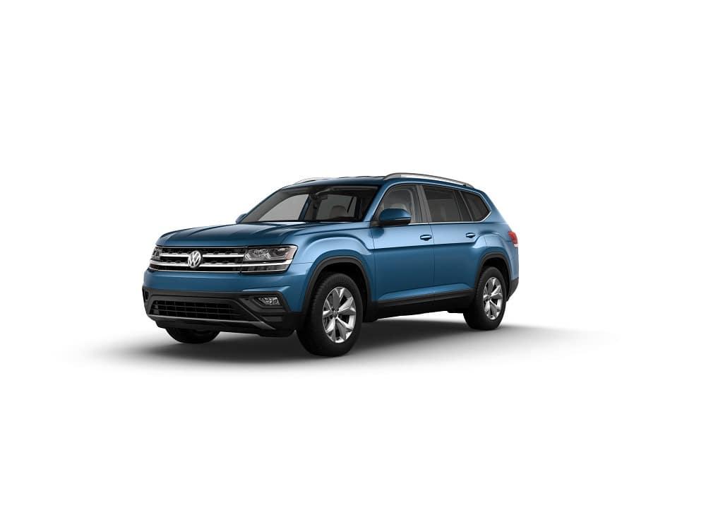 Volkswagen Atlas V6 SE Tourmaline Blue Metallic