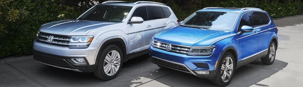 2019 Volkswagen Atlas Lineup