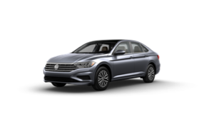 VW Jetta SE Platinum Gray
