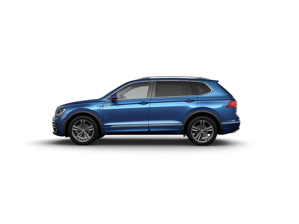 2019 Volkswagen Tiguan SEL R-Line Blue Silk Metallic