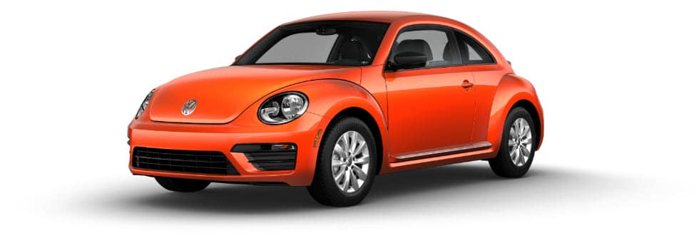 VW Beetle S orange