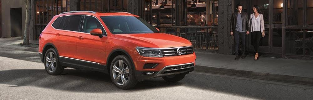 Volkswagen Tiguan Habenero Orange