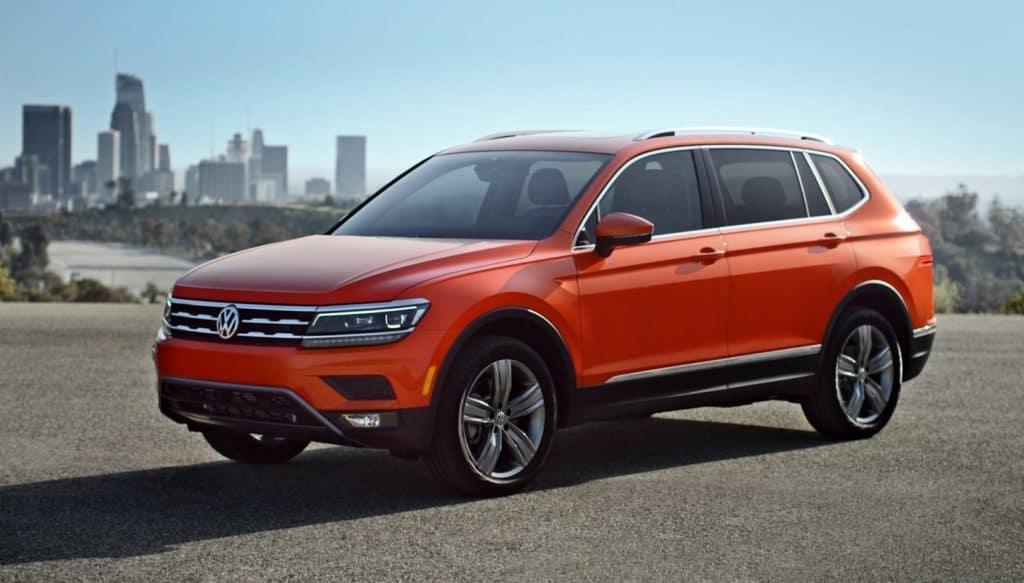 Volkswagen Tiguan all-wheel drive