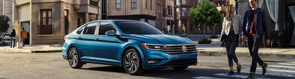 Volkswagen Jetta Silk Blue Metallic