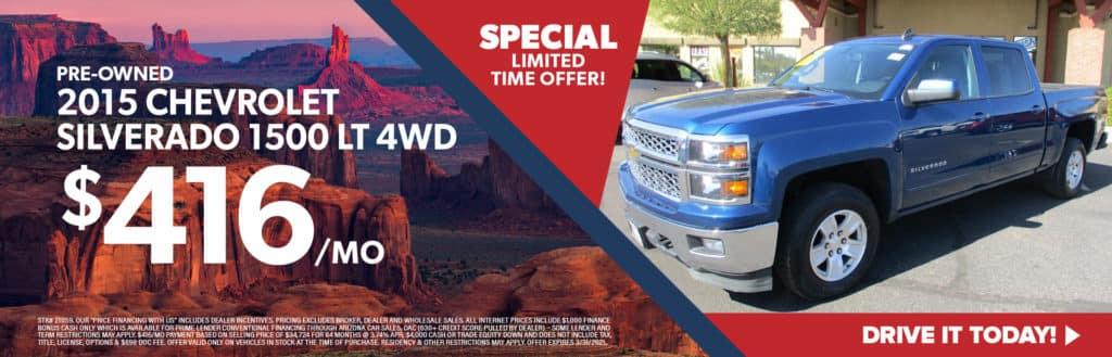 2015 Chevrolet Silverado 1500 LT 4WD