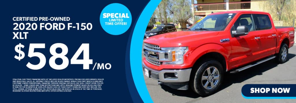 Certified Pre-Owned 2020 Ford F-150 XLT