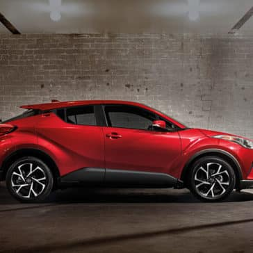 toyota chr Toyota C-HR Ruby Flare Metallic Side