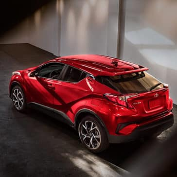 toyota chr Toyota C-HR XLE Ruby Flare Pearl