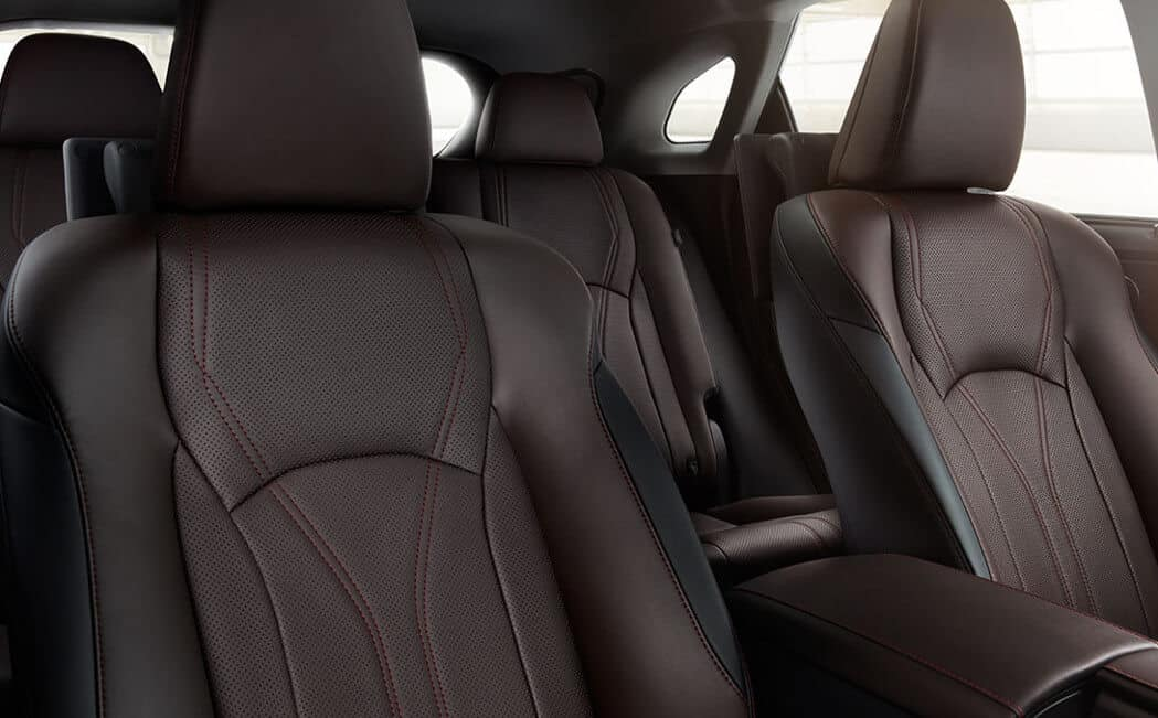2017 Lexus RX leather seats