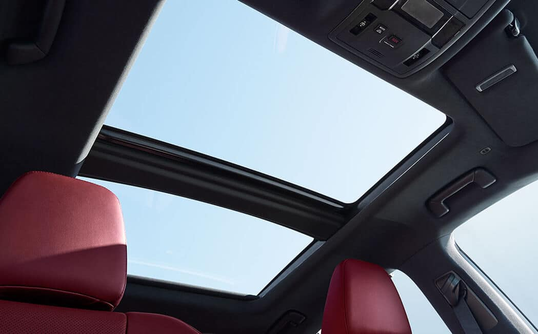 2017 Lexus RX panoramic roof