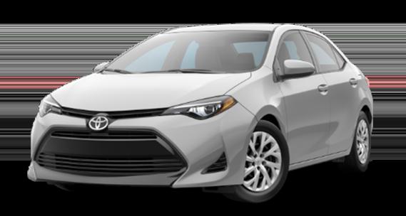 Toyota Corolla silver-metallic
