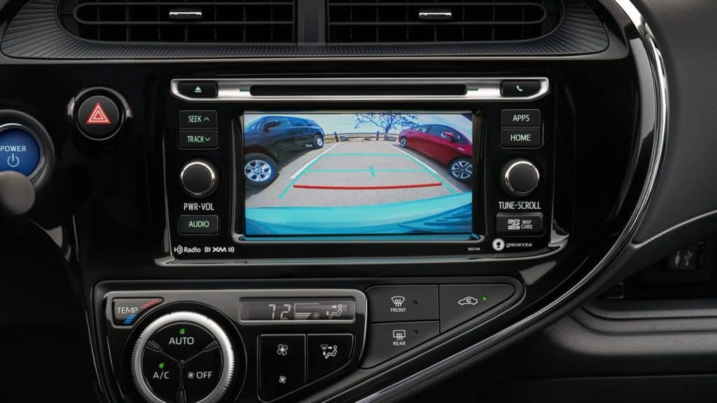 2018 Prius c Interior
