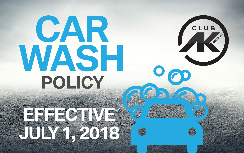 Car Wash Policy