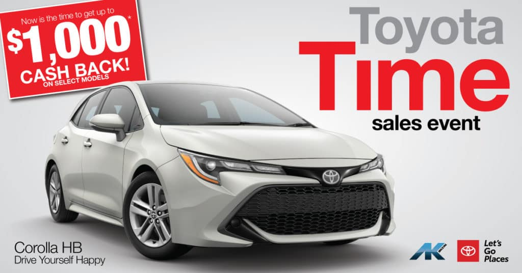 Toyota Time - Corolla HB